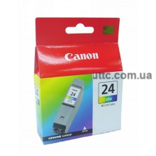Картридж Canon BCI-24С, (6882A009A), (двойная упаковка), цв.