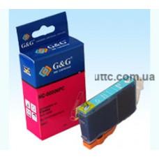 Картридж Canon BCI-6PC, (NC-00006PC), photo cyan, G&G