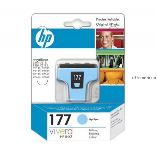 Картридж HP C8774HE, (№177LC), св. син.