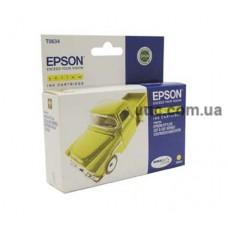 Картридж Epson St. C67, (C13T06344A10), желт.