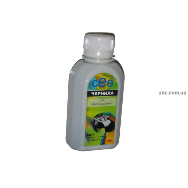 Чернила HP Universal, (CE-BCHP), 100 г, pigment black, CEE