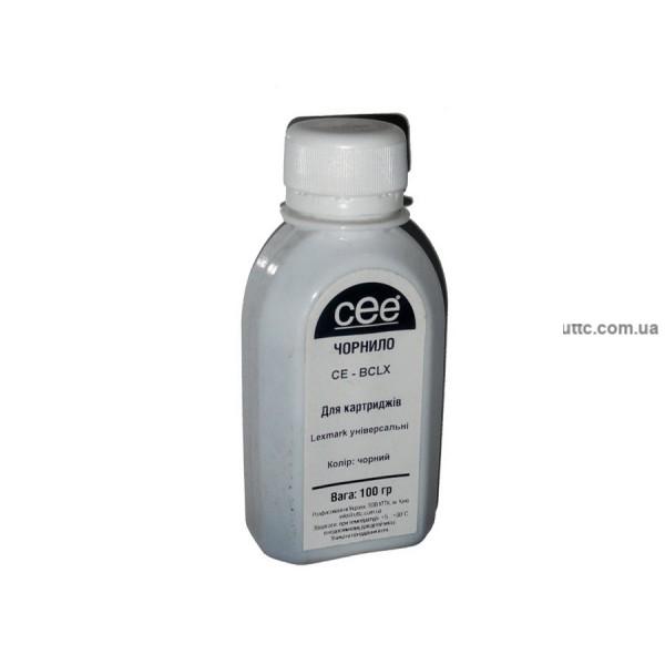 Чернила Lexmark Universal, (CE-BCLX), 100г, pigment black, CEE