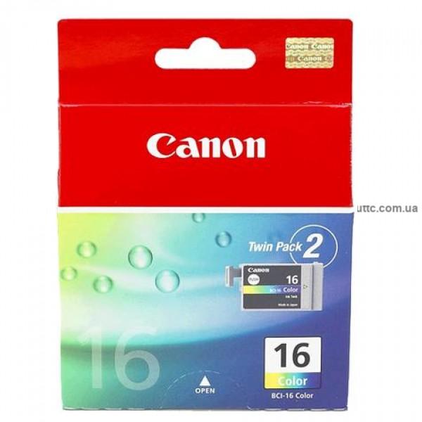 Картридж Canon BCI-16, (9818A002), цв.