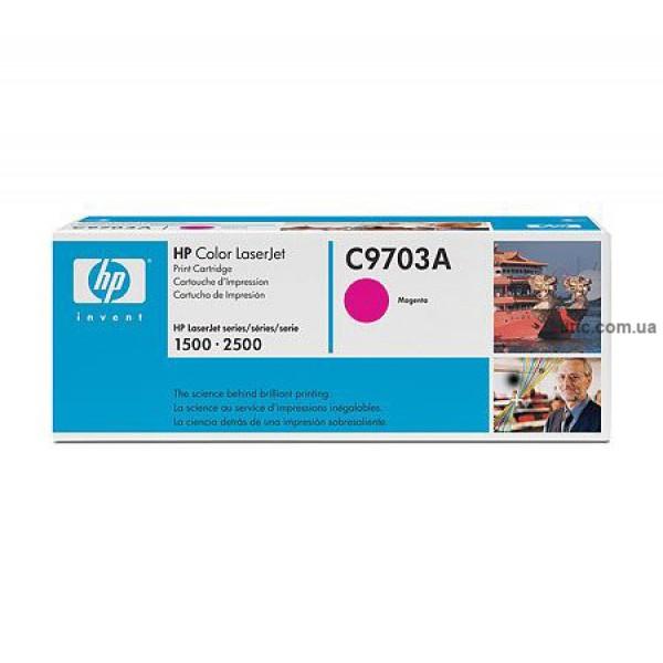 Картридж HP Color LJ 1500/2500, крас.