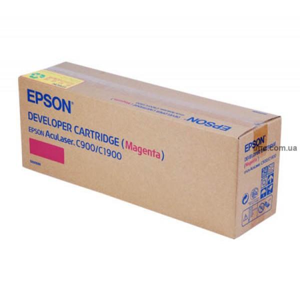 Картридж Epson AcuLaser C900/C1900, крас.