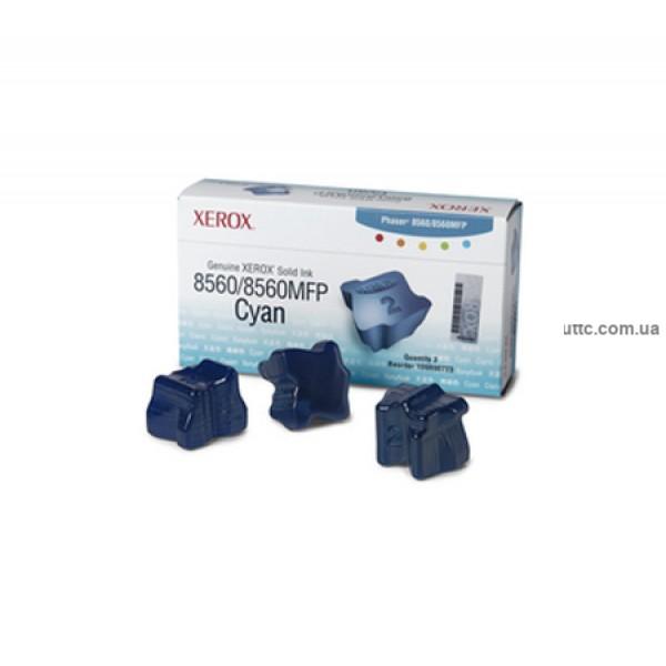 Картридж Xerox Phaser 8560, cyan (3)