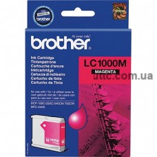 Картридж Brother DCP 130, (LC1000M), крас.