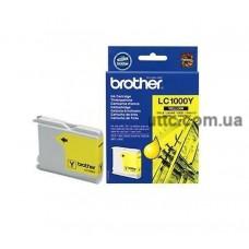 Картридж Brother DCP 130, (LC1000Y), желт.