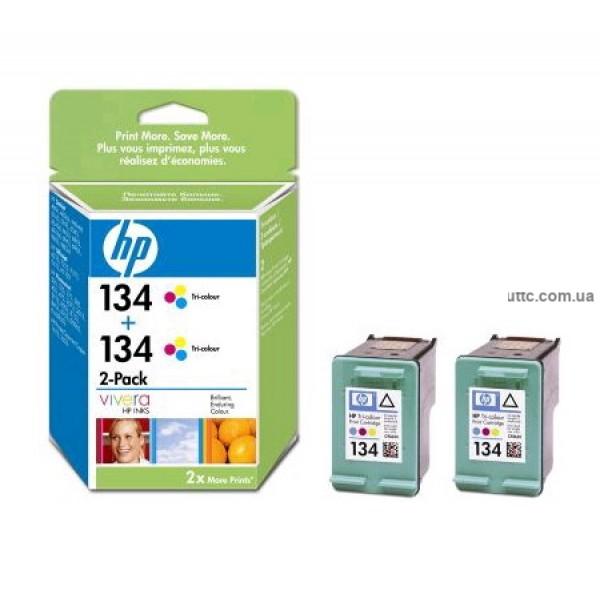 Картридж HP C9505HE, (№134), (двойная упаковка), цв.