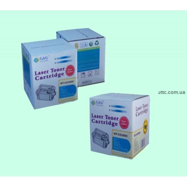 Картридж Samsung CLP-300 (аналог CLP-C300A), cyan, G&G