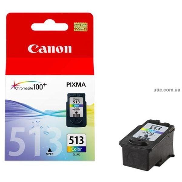 Картридж Canon CL-513, (2971B007), цв.