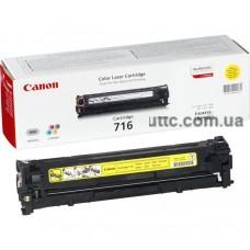 Картридж Canon #716 LBP-5050, желт.