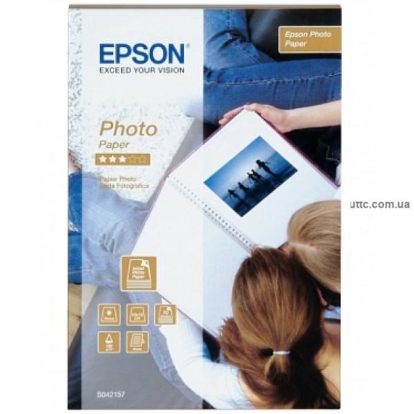 Бумага для стр. печати, 100мм х 150мм, 70 листов, 190 г/м2, (S041255), Epson